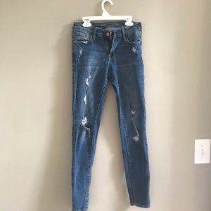 2 pairs of old navy jeans